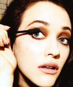 Find your next waterproof mascara here True Beauty, Diy Beauty, Best Waterproof Mascara, Cool Makeup Looks, 2 Broke Girls, Kat Dennings, Christina Hendricks, Girl Crushes, Doll Face