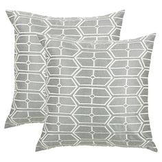 "Garrick Pillow, Home Decorators Collection, 18""x18"" $34.00"