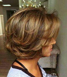 25 Chic Short Haircuts with Bangs - short hairstyles Short Haircuts With Bangs, Layered Bob Hairstyles, Hairstyles Haircuts, Short Layered Haircuts, Natural Hairstyles, Trendy Hairstyles, Short Hair With Layers, Layered Bob Short, Short Hair Cuts