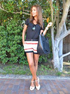 Paula Echevarria (look marinero)