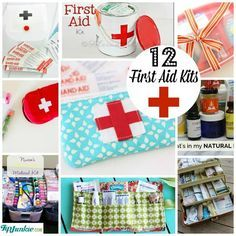 Assemble your own First Aid Kit #make #travel