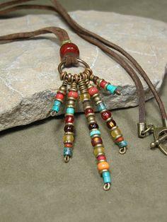 Tribal Necklace - Native Necklace