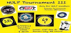 NULP Tournament III in Kansas City, Missouri on 7 December!