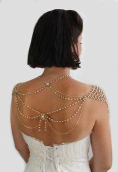 """""""Моя маленькая невеста"""". Свадебное ожерелье в духе 1920-х"""