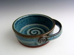 Cindy Gilliland from Dirt Kicker Pottery Shaving dish.