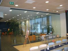 Moving Designs Movable Glass Walls Are Available With Sound Proofing And  Burglary Protection Features.
