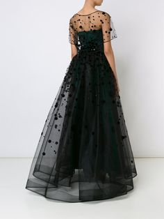 Carolina Herrera polka dot ball gown