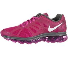 Great tenis! Nike Air Max+ 2012 Women's Running Shoes 487679-610. I boought this shoes for run, they are confortables, sleek and elegant styling. Color: Fireberry/Dark Grey//Summit White #runningshoes
