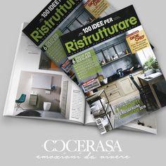 100 idee da ristrutturare - Marzo -Aprile 2018 #release #press #magazine #advertising #design #interiordesign  #bathroom