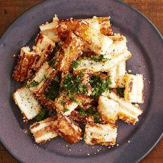 レタスクラブの簡単料理レシピ 明太子スパゲッティ味のちくわ「ちくわ明太バター」のレシピです。