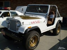 daisy dukes car Thread: The Dukes of Hazzard: Stars, cars, and other cool stuff (lots . Classic Tv, Classic Cars, Famous Movie Cars, Jeep Cj7, Jeep Jeep, Jeep Wranglers, Dukes Of Hazard, Vanz, The Lone Ranger