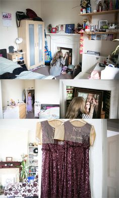 bride getting ready at home in Londonf or fun quirky wedding Quirky Wedding, Relaxed Wedding, Jenny Packham Wedding Dresses, Groom Getting Ready, Table Centers, Get Ready, Good Music, Rock And Roll, Wedding Photography