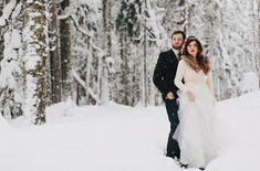 Winter Engagement Photos in Portland: Jade + Ryan