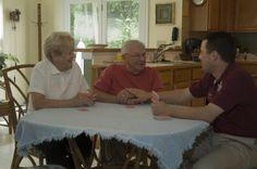 Alzheimer's Communication Tips Comfort Keepers, Outdoor Furniture, Outdoor Decor, Communication, Tips, Blog, Home Decor, Decoration Home, Room Decor