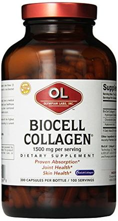 Olympian Lab Biocell Collagen II 1500mg 300Count -- Click on the affiliate link Amazon.com on image for additional details.