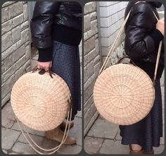 Одноклассники Newspaper Bags, Jane Birkin Style, Eco Friendly Bags, Bags 2017, Round Bag, Jute Bags, Basket Bag, Basket Weaving, Bag Making