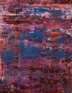 """Koen Lybaert; Oil 2014 Painting """"abstract N° 999"""""""