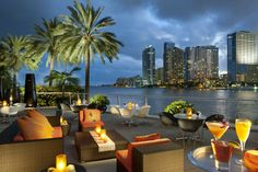 One of my top 5 places I love to spend time at in Miami.  Food, spa, waterfront, ambiance ... it's all good.