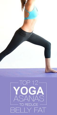 Asana, Reduce belly fat and Yoga on Pinterest