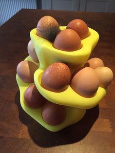 3D Printed Egg Basket #3dprintingprojects