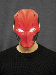 Red Ronin 3D Printed Helmet by Cosplus on Etsy  redhood  batman  cosplay   7862af1bff41