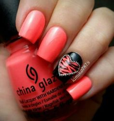 Love this    #ValentineNails  #Nails2Die4