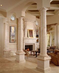 Mediterranean Living Photos Design, Pictures, Remodel, Decor and Ideas - page 9