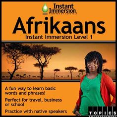 Level 1 Afrikaans - Afrikaans Program - Best Way To Learn Afrikaans