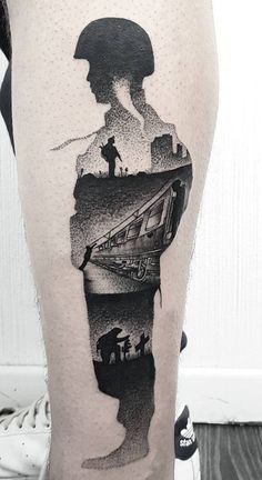Story of a Soldier Tattoo