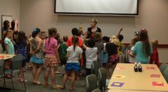 Laugh and Learn Library Lab for 6-9 year olds meets Tuesdays and Wednesdays, 9:30am, 11:00am, and 2:00pm this summer!