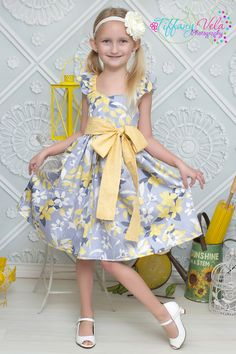 Create Kids Couture's Bethany pdf sewing pattern for girls features flutter sleeves, a nice big bow, a sweetheart or curved bodice, and either a solid cotton or a polyester chiffon flowy skirt! Great for an Easter dress. www.createkidscouture.com/bethanys_girls.html