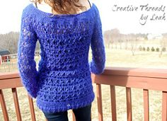 Ravelry: Wicker Weave Top pattern by Creative Threads by Leah