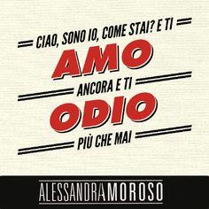 #Ciao #AlessandraAmoroso