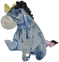 Lovable Eeyore shines in Light Sapphire Silver Shade crystal with a Dark Indigo mane and tail tip. Disney Figurines, Glass Figurines, Collectible Figurines, Cute Cartoon Drawings, Cute Kawaii Drawings, Swarovski Crystal Figurines, Swarovski Crystals, Rose Gold Room Decor, Winnie The Pooh Pictures