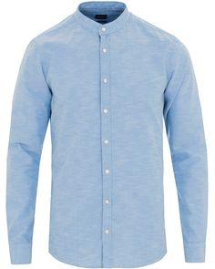 BOSS Casual Eeasy2 Regular Fit Oxford Shirt Light Blue