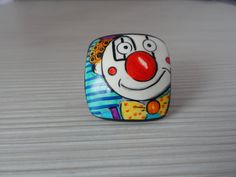 Ring polymer clay. by Klickart on Etsy