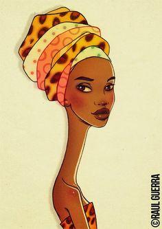The African Women of Raul Guerra