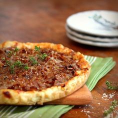 Golden Onion Tart with Gruyère and Thyme