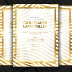Abstract Gold Line Wedding Invatation Templete Wedding PNG and PSD Wedding Templates, Wedding Invitation Templates, Invitation Cards, Wedding Invatations, Las Vegas Party, Photo Frame Design, European Wedding, Pink Wedding Invitations, Gold Line