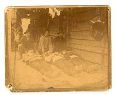hatfields and mccoys feud - the 3 sons that got killed. is a pretty interesting/messed up story