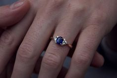 Moira Patience Fine Jewellery Bespoke Sapphire and Diamond Engagement Ring Edinburgh Sapphire Diamond, True Beauty, Edinburgh, Patience, Diamond Engagement Rings, Bespoke, Diamond Jewelry, Jewerly, Fine Jewelry
