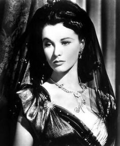 Vivien Leigh in That Hamilton Woman wearing Joseff Hollywood Jewelry
