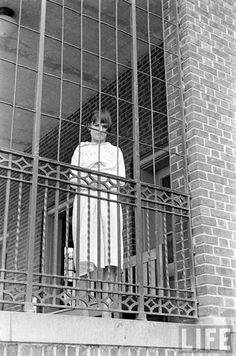 Pilgrim State Hospital ~ Brentwood, New York, by Alfred Eisenstaedt (LIFE Magazine) Mental Asylum, Insane Asylum, Abandoned Asylums, Abandoned Places, Pilgrim State Hospital, Brave, Psychiatric Hospital, Medical History, Life Magazine