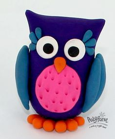 Can we get a whoot whoot for this bright and fun looking owl? He makes the perfect desktop companion at home, school or work. Designed by Britta Lautenschlager