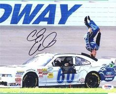 Signed Carl Edwards Photo - Nationwide Series # 60 Ford Racing 8x10 PSA COA - Autographed NASCAR Photos by Sports Memorabilia. $62.37. Carl Edwards Signed NASCAR Nationwide Series # 60 Ford Racing 8x10 Photo PSA COA