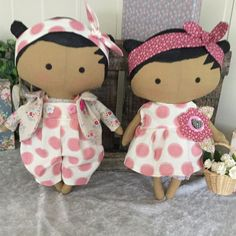 Tilda Sweetheart dolls