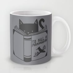 To Kill a Mockingbird coffee mug by Tobe Fonseca #coffee #mugs