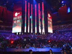 LED Panels - Hillsong Conference