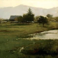 "Douglas Fryer: 2006-2007 ""Calavaras County Farm"" 12x12"""