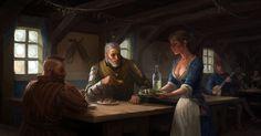 Tavern by CG-Zander.deviantart.com on @DeviantArt